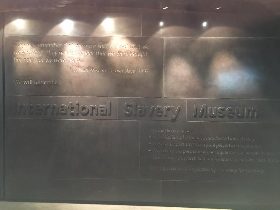 International Slavery Museum sign
