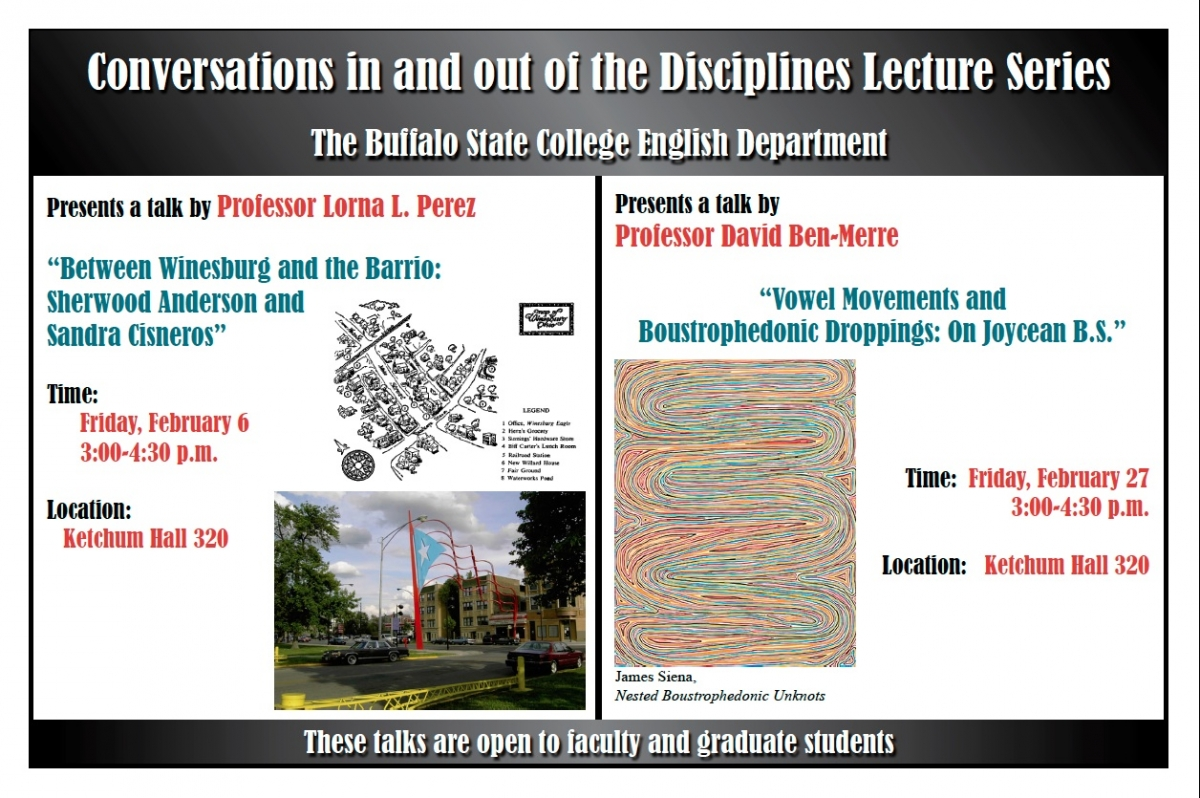 Poster for Perez and Ben Merre talks